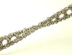 Byzantine Ladder Stainless Steel Chainmaille Bracelet Kit  by UnkamenSupplies, $50.00