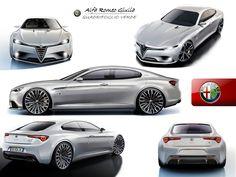 2015 Alfa Romeo Giulia rendering | Diseno-art