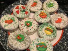 White-Chocolate Covered Oreos: Not only are these Oreos fast, easy and kid-friendly to make, they're perfect to dress up for any occasion or holiday.