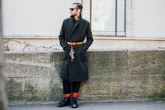 Street style Fashion Week homme automne Street style Fashion Week homme automne hiver 2017 2018 paris