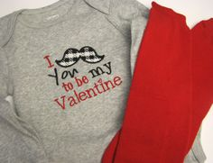 Baby Boy Valentines Outfit