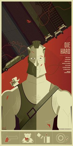 Die Hard Vector Graphics #vector #graphics