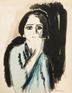 Kees van Dongen「Colère」(1925)