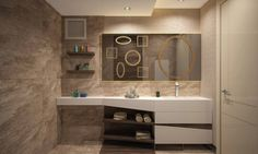 BWorks  - SD HOUSE: modern tarz Banyo