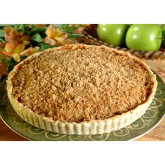 Sweet butterscotch, brown sugar and cinnamon give this elegant apple tart a rich aroma and flavor. Perfect served warm with ice cream or whipped topping.