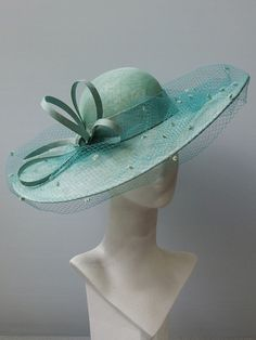 SS 2019 - JohnBoyd Victorian Hats, Flower Spray, Pink Hat, Horse Hair, Summer Hats, Green Velvet, Silk Flowers, Cowboy Hats, Fancy