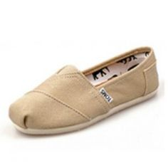 $29 Toms Shoes Khaki Canvas Youth Classics For Sale