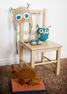 Once Upon A Kate: Owl Baby Gift Set