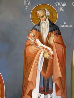 Themis Petrou - Saint Athanasio's Church - Find Creatives Byzantine Icons, Nashville Tennessee, Religious Art, Ikon, Fresco, Ethereal, Saints, Aurora Sleeping Beauty, Mindfulness