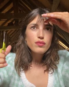 French Icons, Adam Style, Jeanne Damas, Style Icons, Hair Inspiration, Bangs, Hair Cuts, Actresses, Fashion Outfits