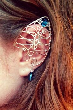 #CouponFairy Chainmaille #elf ear cuff by ElysianPearl on Etsy $35.00 at #OddmallSeattle Holiday Edition!
