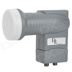 Brand: HYGD - Model: DTL-02 - Quantity: 1 - Color: Grey - Input frequency range: Low band: 10.7~11.7GHz; High band: 11.7~12.75GHz - Output frequency range: Low band: 950~1,950GHz; High band: 1,100~2,150GHz - L.o. frequency: 9.75/10.6gHz +/- 1MHz (max.) 25'C - L.o. frequency stability: 9.75/10.6GHz +/- 2MHz (max.) at -40~+60'C - Packing list: - 1 x TV receiver http://j.mp/1vnLSz1
