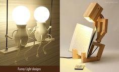 Bedroom Lamps, Bedroom Lighting, Lamp Design, Lighting Design, Hanging Lights, Wall Lights, Funny Images, Funny Pictures, Mushroom Lights