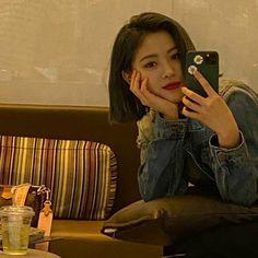 Character Aesthetic, Kpop Aesthetic, I Love Girls, Cool Girl, Kpop Girl Groups, Kpop Girls, We Heart It, Golden Family, Hair Icon