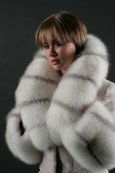 Fox Fur Coat #View More Furs