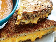 "Grilled Cheese Skillet ""Panini"" 