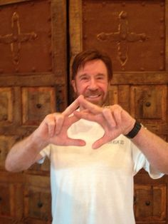 Chuck Norris. #TSTC this might not be my sorority's sign, but its still awesome