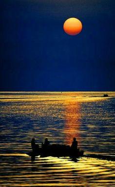 ¤  Bello Paisaje de Noche en Al Danah, Arabia Saudita. (Montiel)