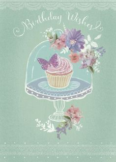 Claire Mcelfatrick - Cupcake Floral Birthday