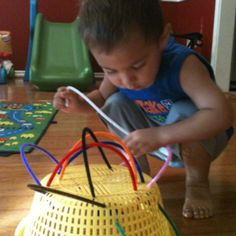 DIY Sensory ideas- maybe a little advanced for the ones but still awesome idea