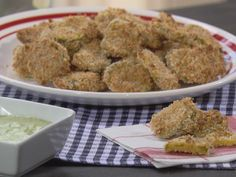 Un-fried Pickles Recipe : Trisha Yearwood : Food Network - FoodNetwork.com must try to make gluten free