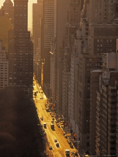 NYC. Central Park South,  early morning