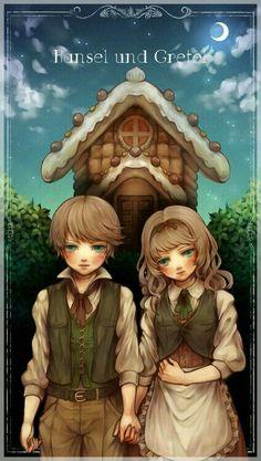 Anime Hansel and Gretel