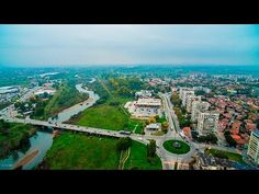 """Pazardzhik-BULGARIA park ostrov """"Svoboda """" in 4K uncut NO SOUND"""