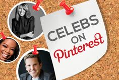 Find your #fave #celebrities on #Pinterest!