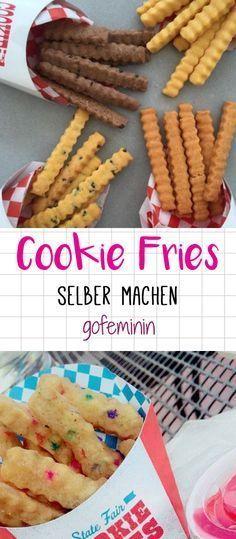 Lecker!!! DIY Cookie Fries - so machst du die süßen Trend Fritten selbst!