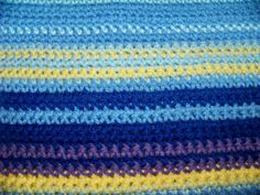 Temperature Blanket 2015 never heard of this before but I've got to make one now. Probably need to omit the 2 purples and add a red for Modern Crochet Patterns, Crochet Blanket Patterns, Crochet Stitches, Crochet Afghans, Crochet Blankets, Pillow Patterns, Crocheting Patterns, Baby Afghans, Afghan Patterns