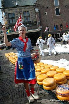 Cheese market~Alkmaar,   Netherlands