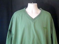 GUIDE SERIES Mens 2XL Green Outdoor Jacket Golf Sports 100% Polyster #GUIDESERIES #BasicJacket