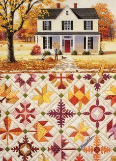 Blog of an Art Admirer: Rebecca Barker's Quiltscapes
