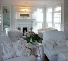 Shabby Chic Living Room Furniture