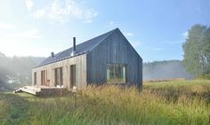 Its gabled form is a reference to the local vernacular of Tenala, a rural community 60 miles west of Helsinki.
