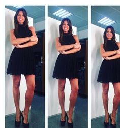 """Barbara Pedrotti wearing Mangano dress """"Thirtyfive"""" available on our shop online"""