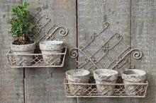 Blomkrukor för vägg.  Blomkrukor för vägg den till vänster. 249:-  www.prydnadsrummet.se