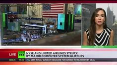 'Glitches' shut down NYSE, United Airlines & WSJ in same day