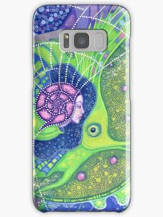 """""""Dream of the fullmoon"""" Samsung Galaxy Cases & Skins by clipsocallipso 