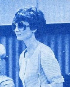 Signora Audrey Hepburn Dotti photographed in Rome (Italy), in May 1974.