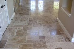 Tile flooring patterns or main entry and laundry room