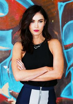 "Totally enamored with Megan Fox's new hair; it elevates her look so much.    The urge to chop my own hair gets stronger with every sleek ""lob"" I see."