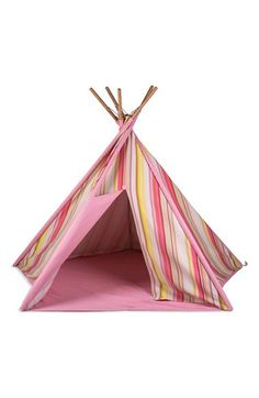 Pacific Play Tents Pacific Play Tents Stripe Cotton Canvas Teepee available at #Nordstrom