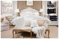 clean bedroom look