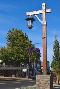 Wooden light post patio pinterest light posts lights and similar ideas aloadofball Choice Image