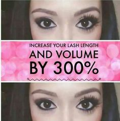 3D Fiber Lash Mascara, the results are in the picture!! And they come with a 14 day Love it Guarantee!! (: Www.3DLashesByApril.com