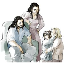 Thorin, Dis, Fili and Kili