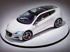 Concept Sports Cars | Honda CR-Z Concept Hybrid Sports Car