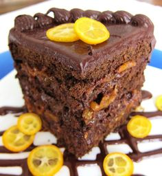 Fragrant Vanilla Cake: Chocolate Sapote Cake with Kumquat Orange Marmalade Chocolate Pudding Fruit, Cake Chocolate, Gourmet Recipes, Dessert Recipes, Party Recipes, Sweet Desserts, Veggie Recipes, Kumquat Recipes, Desert Recipes